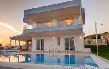 Villa Delfini 3 Strandvilla in Kalamaki